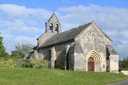 L'église Sainte Radegonde dans son état actuel